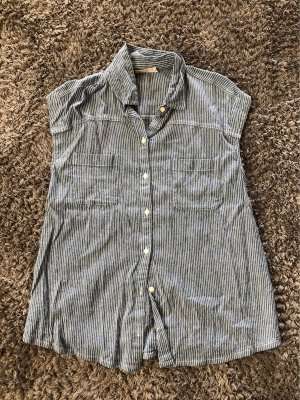 Hollister kurzarm-Bluse in Jeans-Look EUR S