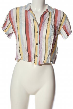 Hollister Kurzarmhemd Streifenmuster Casual-Look