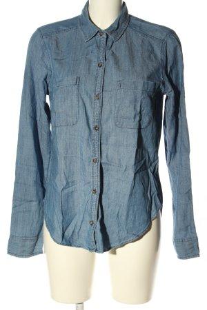 Hollister Langarm-Bluse blau Casual-Look