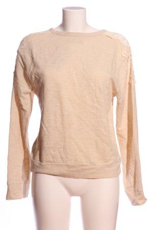 Hollister Sweatshirt nude Casual-Look