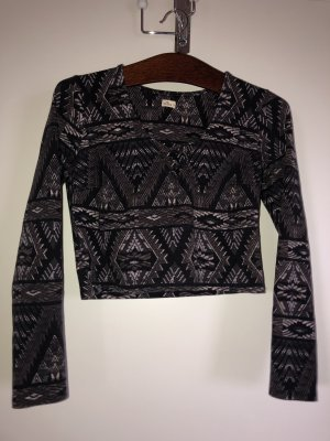 Hollister langarm-Shirt mit Muster