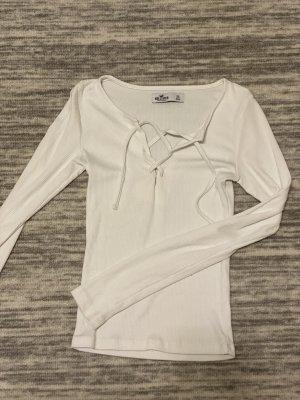 Hollister Camicia lunga bianco