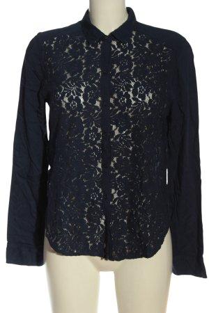 Hollister Langarmhemd blau Elegant