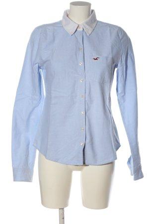 Hollister Langarmhemd blau Business-Look