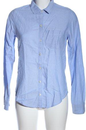Hollister Langarmhemd blau Casual-Look