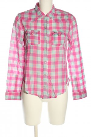 Hollister Langarmhemd Allover-Druck Casual-Look