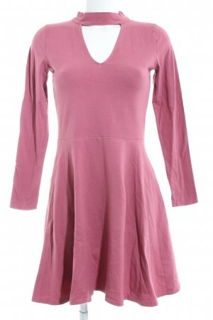 Hollister Langarmkleid pink Casual-Look