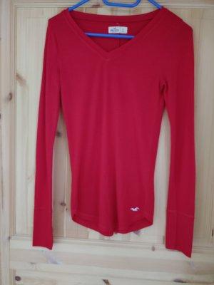 Hollister Langarmshirt Rot Gr. S
