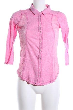Hollister Longsleeve pink meliert Casual-Look