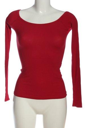 Hollister Longsleeve red casual look