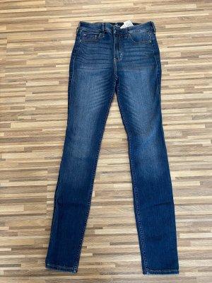 Hollister Skinny Jeans dark blue-blue