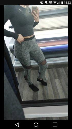 Hollister Leggings grey spandex