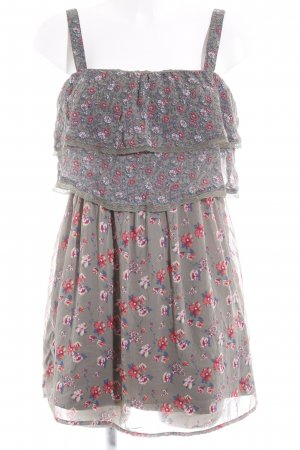 Hollister Minikleid Blumenmuster Beach-Look