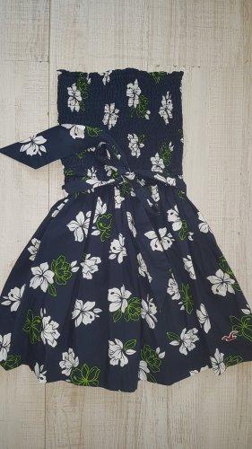 Hollister Minikleid Gr. S - Sommerkleid - Bandeaukleid - Sommertop - Blumenkleid - Bandeau-Top