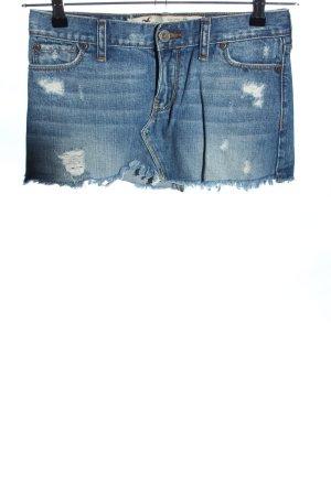 Hollister Minirock blau Casual-Look
