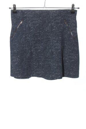 Hollister Minigonna blu-bianco puntinato stile casual