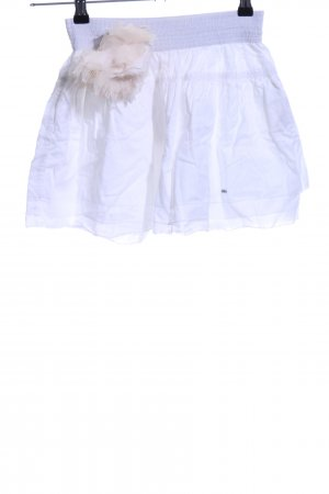 Hollister Minigonna bianco-crema stile casual
