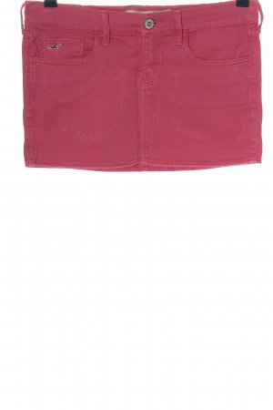 Hollister Minirock rot Casual-Look