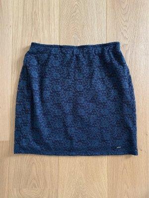 Hollister Lace Skirt blue-dark blue