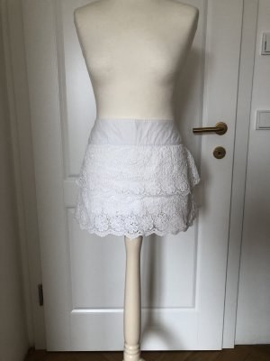 Hollister Lace Skirt white