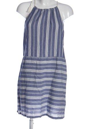Hollister Abito con corpetto blu-bianco stampa integrale stile casual