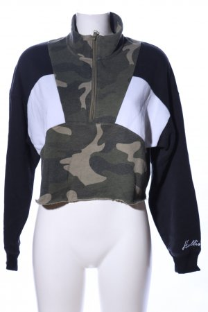 Hollister Oversized Pullover Camouflagemuster Casual-Look