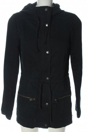 Hollister Parka black casual look