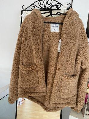 Hollister Fur Jacket multicolored