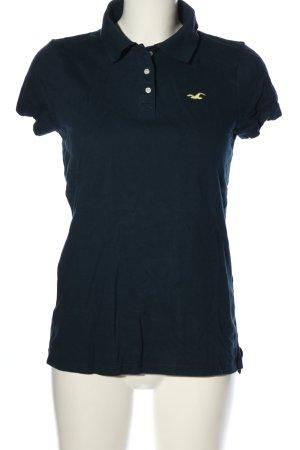 Hollister Polo-Shirt blau Casual-Look