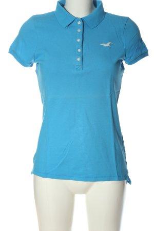 Hollister Polo-Shirt blau sportlicher Stil