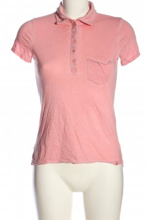 Hollister Polo-Shirt pink Casual-Look