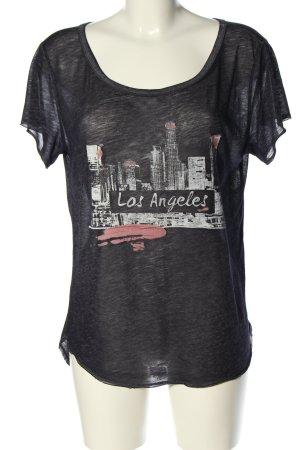 Hollister Print-Shirt meliert Casual-Look
