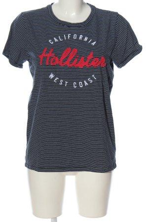 Hollister Print-Shirt Schriftzug gedruckt Casual-Look