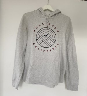 Hollister Pull à capuche gris clair