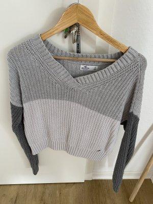 Hollister Crochet Sweater multicolored