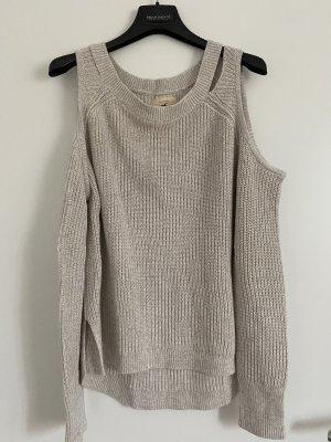 Hollister Pullover beige L neu