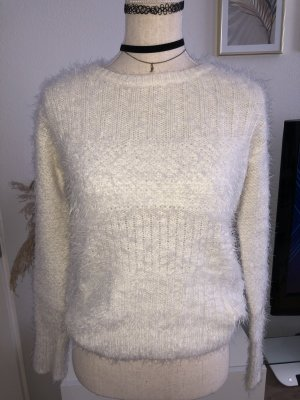 Hollister Wool Sweater white-natural white