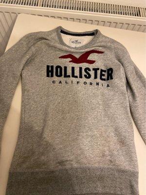 Hollister Maglione lavorato a maglia grigio chiaro