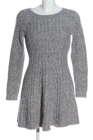 Hollister Pulloverkleid hellgrau meliert Casual-Look