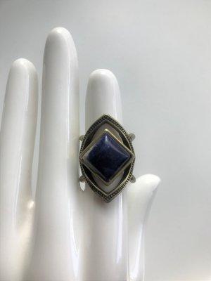 Hollister Ring blau Statement Ring von Hollister