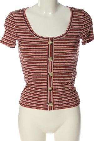 Hollister Camisa de rayas estampado a rayas look casual
