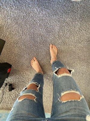 Hollister Jeans boyfriend bleu