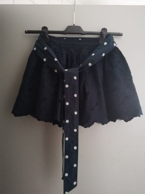 Hollister Minigonna blu scuro-bianco