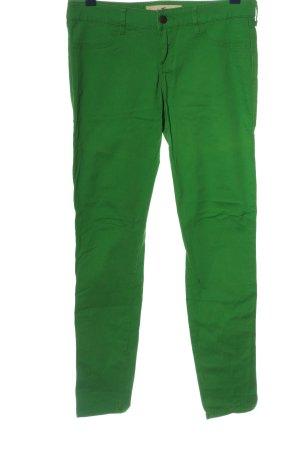 Hollister Röhrenhose grün Casual-Look