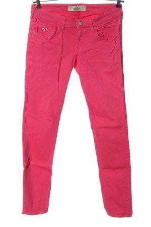 Hollister Jeansy rurki różowy W stylu casual