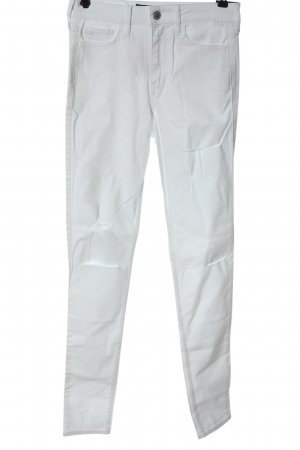 Hollister Tube Jeans white casual look