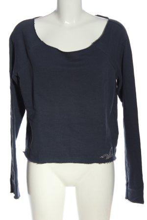 Hollister Sweatshirt blau Casual-Look