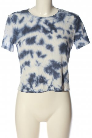 Hollister Maglia batik bianco-blu stile casual