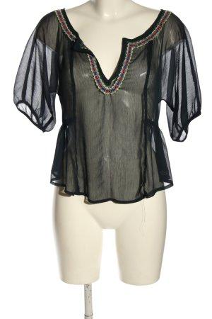 Hollister Schlupf-Bluse schwarz Elegant