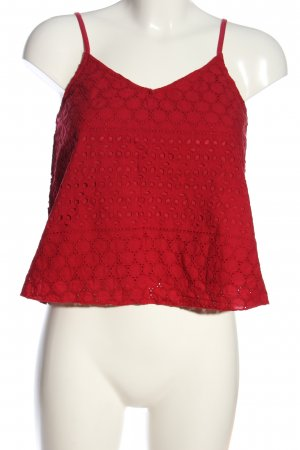 Hollister Schlupf-Bluse rot Casual-Look